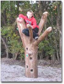 Naturlegepladser - Klatretræ