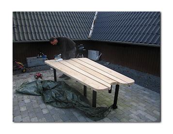 Rå plankeborde